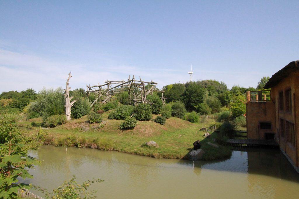 Für die Nachhaltigkeit ist im Zoo Arche Noah gesorgt